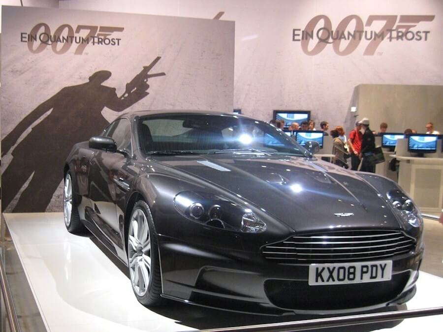 James Bond (By Piotr Włodarczyk from London, UK (007- Quantum of Solace Booth) [CC BY-SA 2.0 (http---creativecommons.org-licenses-by-sa-2.0)], via Wikimedia Commons)