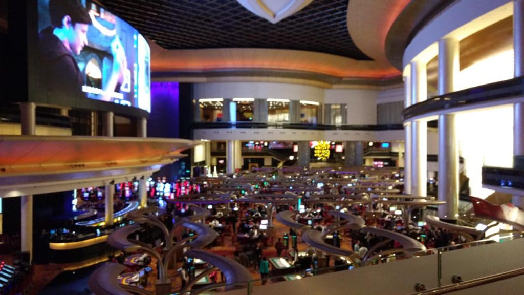 Sands casino vloer