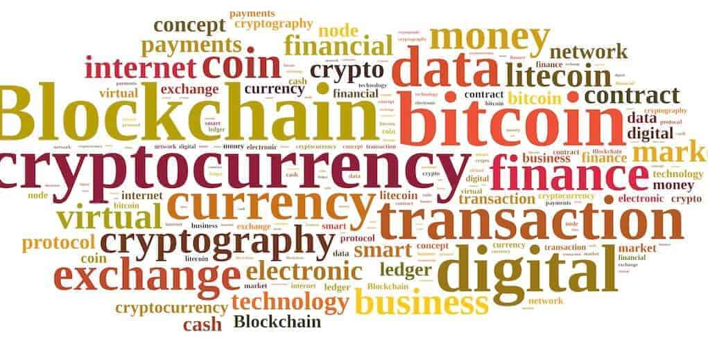 Cryptocurrency termen