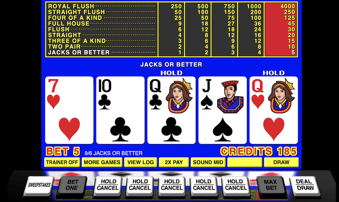 Jacks-or-Better-Online-Video-poker