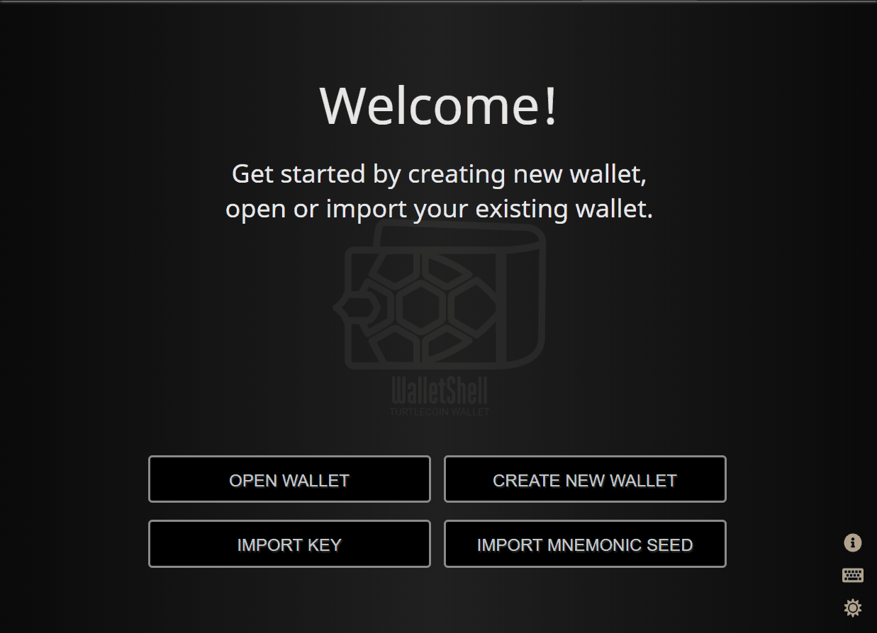 TurtleCoin wallet